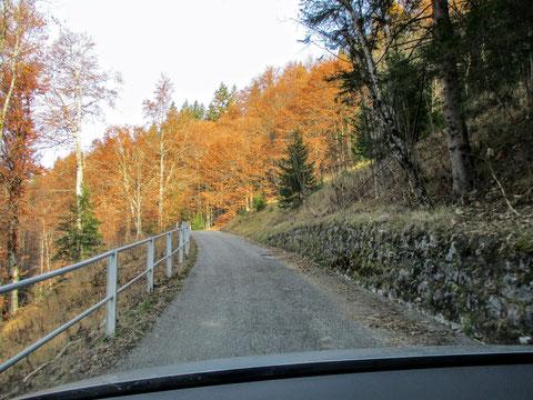 Bergstrasse, Kanaltal