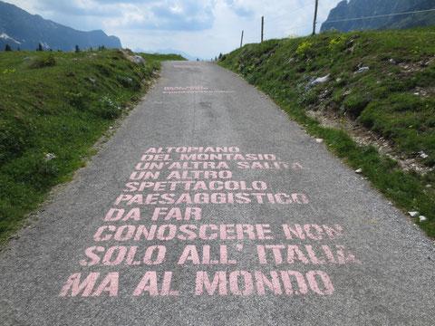 Montasio, Montasch, Julische Alpen, Giro d´Italia