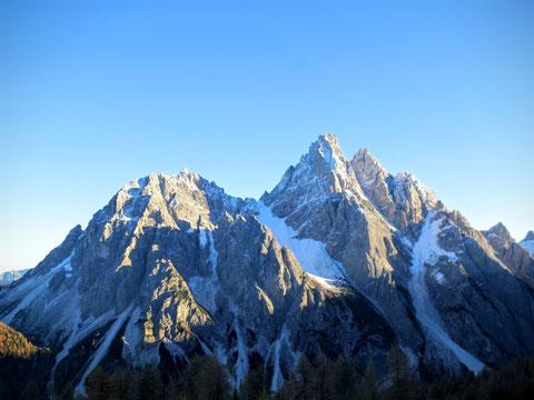 Dreischusterspitze, Haunoldköpfl, Sextener Dolomiten