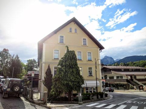 Das ehemalige Hotel Schnablegger in Tarvis