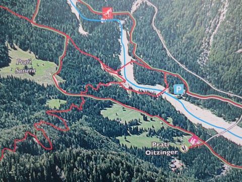 Alpe Adria Trail, Luschari, Monte Lussari