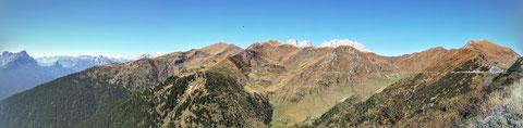 Panoramica delle Vette, Monte Crostis, MTB, Radtour