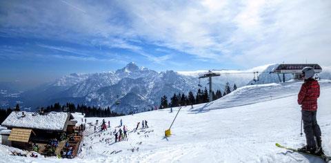 Julische Alpen, Wischberg, Montasch, Tarvis Skigebiet, Mangart