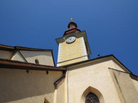 Die Kirche von Tarvis