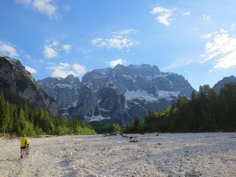 Ciclovia Alpe Adria Radweg, Kanaltal, Julische Alpen, Seisera, Alpe Adria Trail, Valbruna
