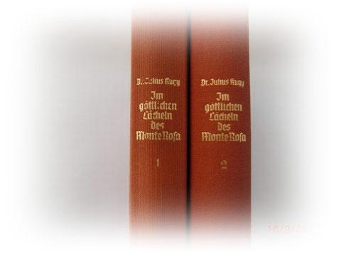 Dr. Julius Kugy - Im göttlichen Lächeln des Monte Rosa - erschienen 1940 - handelt zwar nicht von den Julischen Alpen, der Vollständigkeit halber aber angeführt
