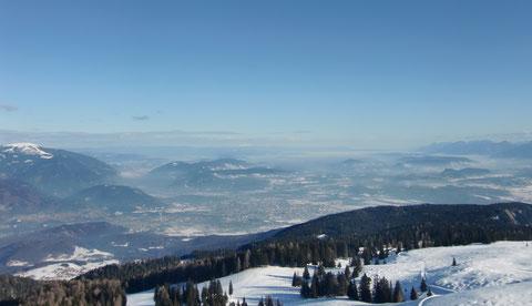 Blick nach Villach