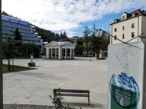 Tempelbrunnen, Rogaška Slatina, Donat, Rohitsch Sauerbrunn, Slowenien, Therme