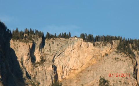 Dobratschabbruch - Die Rote Wand mit Aussichtsplattform