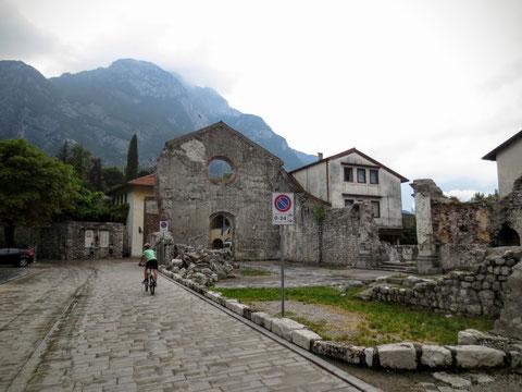 Alpe Adria Radweg Arnoldstein - Venzone 02.07.2016