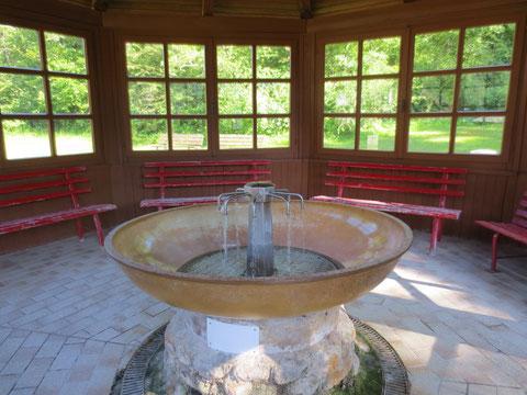 Der Schwefelbrunnen in Lussnitz