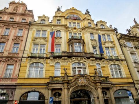 Prag, Jugendstil Fassade