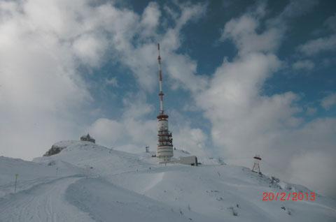 Villacher Alpe, Dobratsch, Skitour, Schneeschuh, Wanderwege, Gipfelhaus
