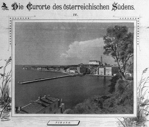 Pirano im Jahr 1894