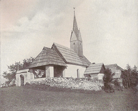 Das Kirchlein von Lind bei Arnoldstein