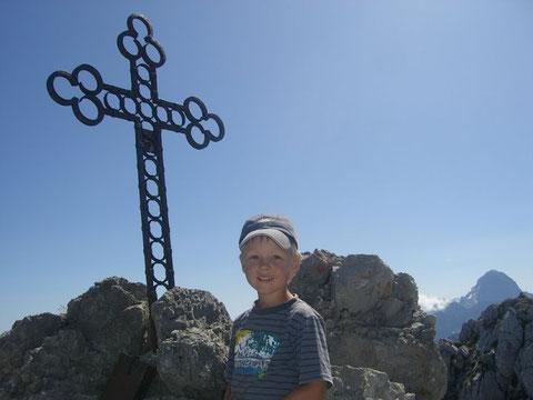 Steinerner Jäger 2.071m - leicht erreichbarer Aussichtsberg nächst dem Luschariberg