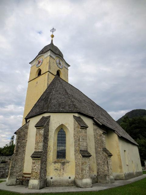 Die ursprünglich um 1100 erbaute Kirche von Coccau (Goggau)