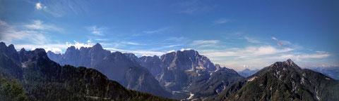Luschriberg, Maria Luschari, Monte Lussari, Julische Alpen, Alpe Adria Trail
