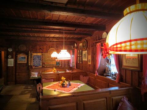 Endlich wieder im Trockenen - in der gemütlichen Osnabrücker Hütte