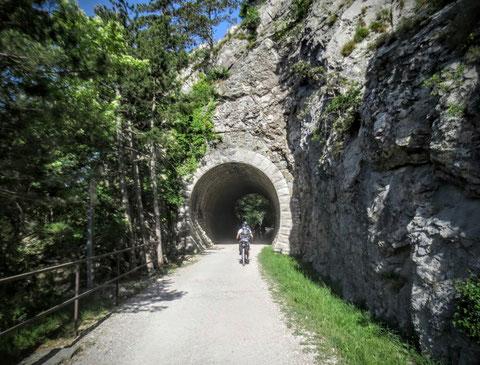 Parenzana, Triest, Porec, Radweg, Eisenbahn, Giordano Cottur