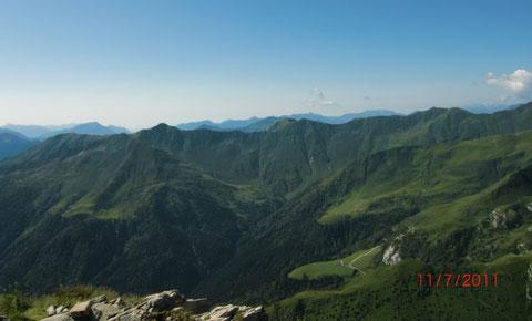Cellon, Plöckenpass, Klettersteig Senza confini - Weg ohne Grenzen
