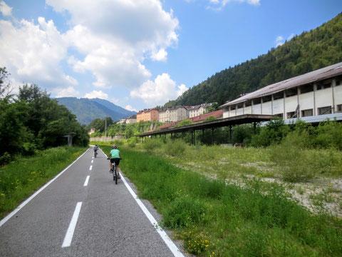 Ciclovia Alpe Adria Radweg, Kanaltal