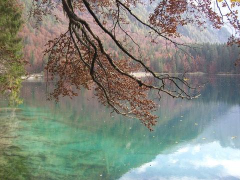 Weissenfelser Seen, Laghi di Fusine, Alpe Adria Trail, Zacci Hütte, wandern