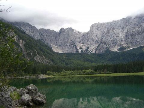 Weissenfelser Seen - Laghi di Fusine - Oberer See (Lago superiore)
