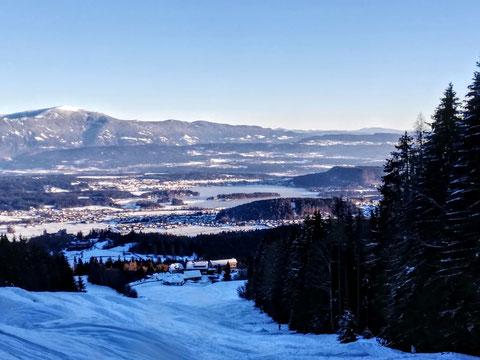 Baumgartnerhöhe, Schwarzkogel, Schnee