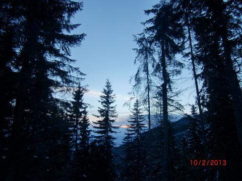 Skitour, Dobratsch, Villacher Alpe, Gipfel, Schneeschuh, Wandern, Winter, Heiligengeis