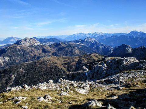 Karnische Alpen, Trogkofel, Klettersteig