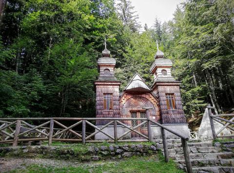 Vrsic, Russische Kapelle, Alpe Adria Trail, Julische Alpen