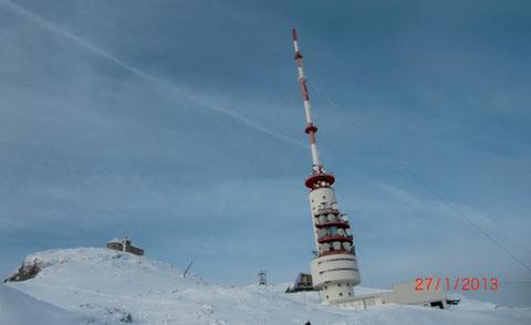Skitour, Dobratsch, Villacher Alpe, Gipfelhaus, Heiligengeist, Gipfel