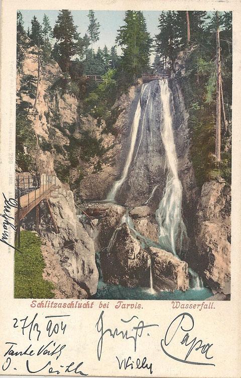 Schlitzaschlucht Tarvis, Julische Alpen
