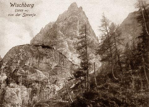 Wischberg von der Spranje 1915