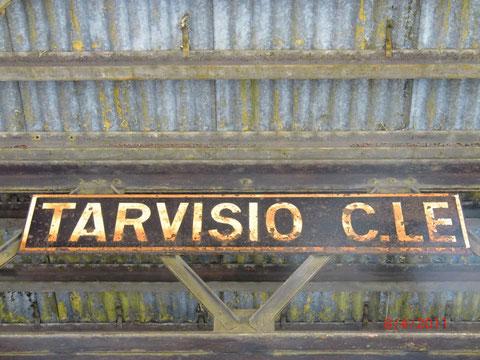 Tarvis, Bahnhof,  Ciclovia Alpe Adria Radweg, Julische Alpen