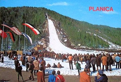 Wie sich die Bilder gleichen - Planica 35 Jahre vorher Ende der 1970er Jahre
