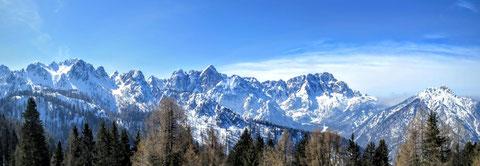 Julische Alpen, Wischberg, Montasch