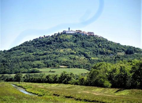 Istrien, Fahrrad, Parenzana, Motovun