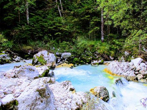 Pocacnik Haus, Kriz Seen, Julische Alpen, Trenta, Triglav