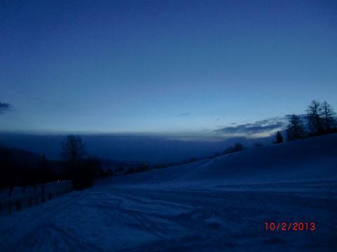 Skitour, Dobratsch, Villacher Alpe, Gipfel, Schneeschuh, Wandern, Winter, Heiligengeist