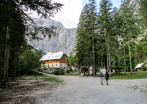 Vratatal, Triglav, Julische Alpen, Berghütte, Alpenverein