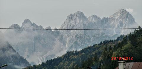 Wischberg, Raibl, Predil, Tarvis, Julische Alpen