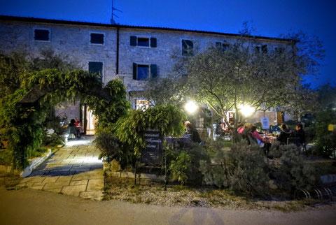 Parenzana, Triest, Porec, Radweg, Eisenbahn, Casa Romantica, Buje