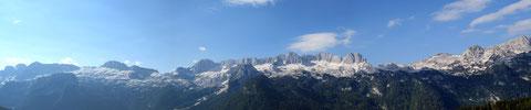 Julische Alpen, Mangart, Wischberg,Triglav, Montasch, Luschari, Dobratsch