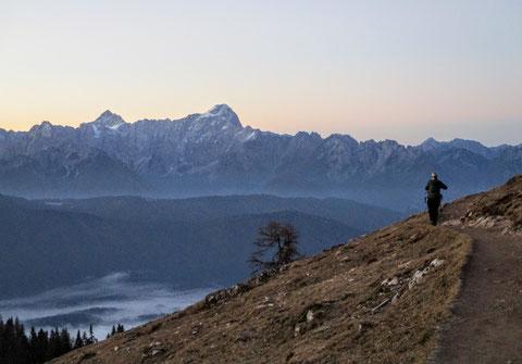 Villacher Alpe, Julische Alpen, wandern
