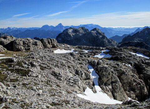 Karnische Alpen, Gipfel, Julische Alpen