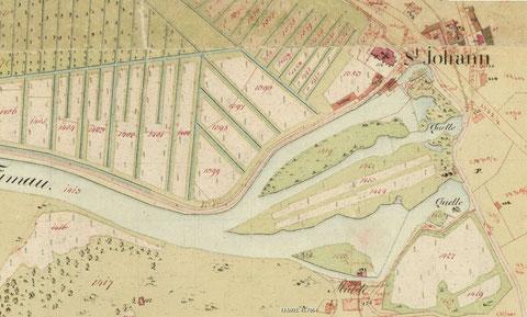 Die Timavo-Quellen um 1830
