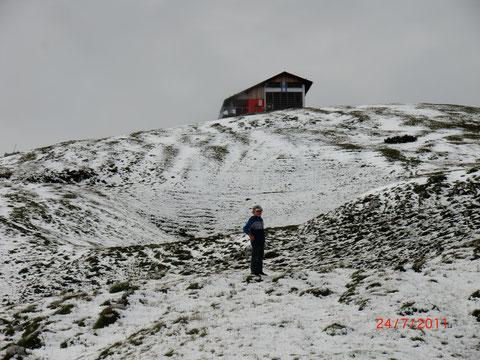 24. Juli - Schnee am Zehner