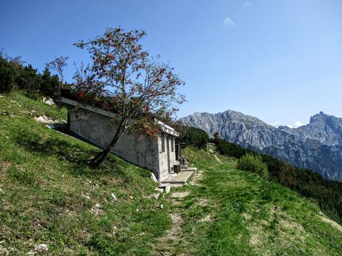 Val Alba, Moggio, Wandern, Karnische Alpen, Cjasut dal Scior